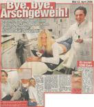 Bild Zeitung Tätowierungsentfernung Dr. Kai Rezai