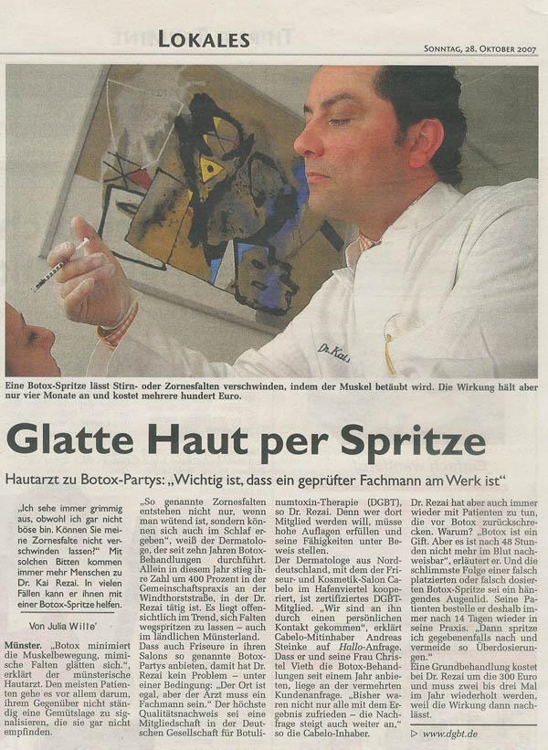 Botox Dr. Kai Rezai Münster