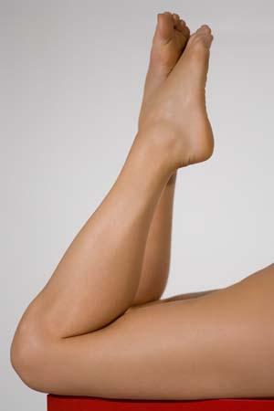 schöne Beine nach der Therapie