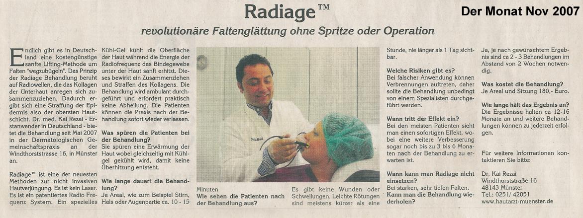 Mesotherapie Dr. Kai Rezai Münster