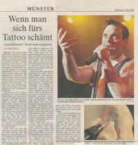 Westfälische Nachrichten Tattoo Entfernung Dr. Kai Rezai