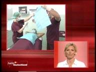 ZDF Hallo Deutschland 10.07.2006 Dr. Kai Rezai Schweißdrüsenabsaugung
