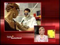 ZDF Hallo Deutschland 26.04.2006 Dr. Kai Rezai Tätowierungsentfernung