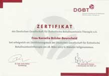 Botox Zertifizierung Kornelia Brüske-Bourscheid